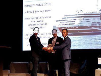 NAPA and Norsepower awarded for their partnership in data verification and analysis