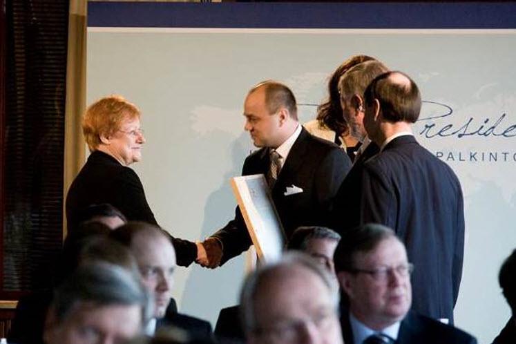 President of Finland Internationalization Award 2008