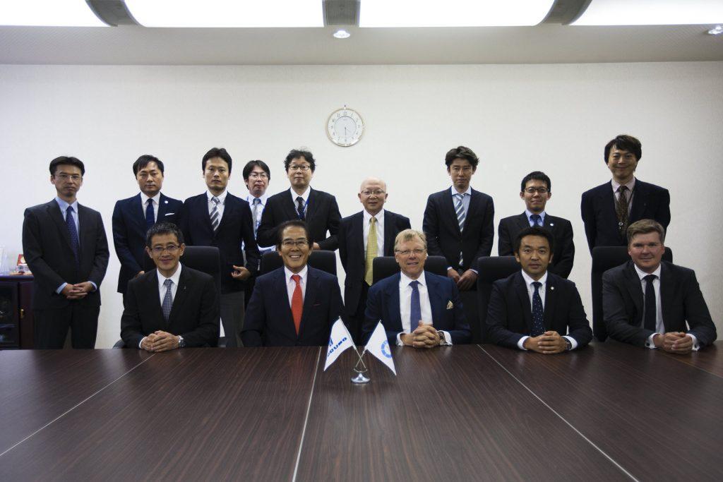 Furuno-NAPA signing ceremony