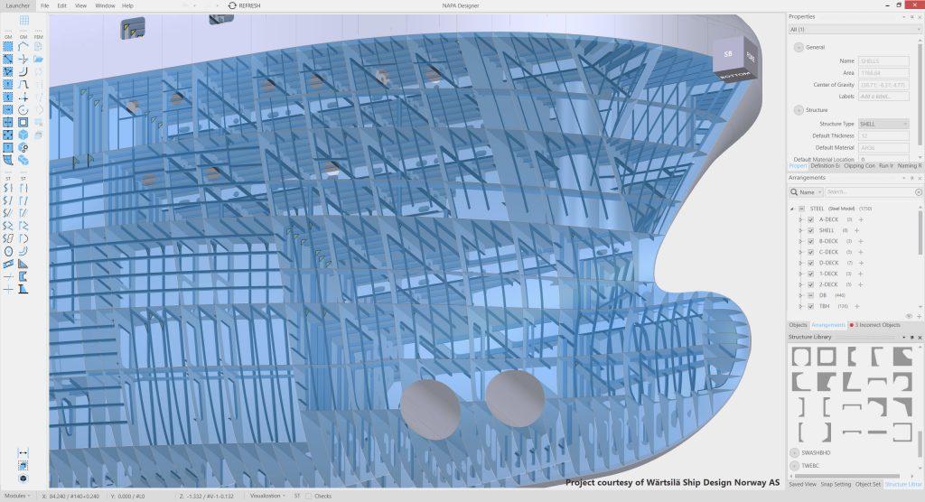 Structural Design – NAPA