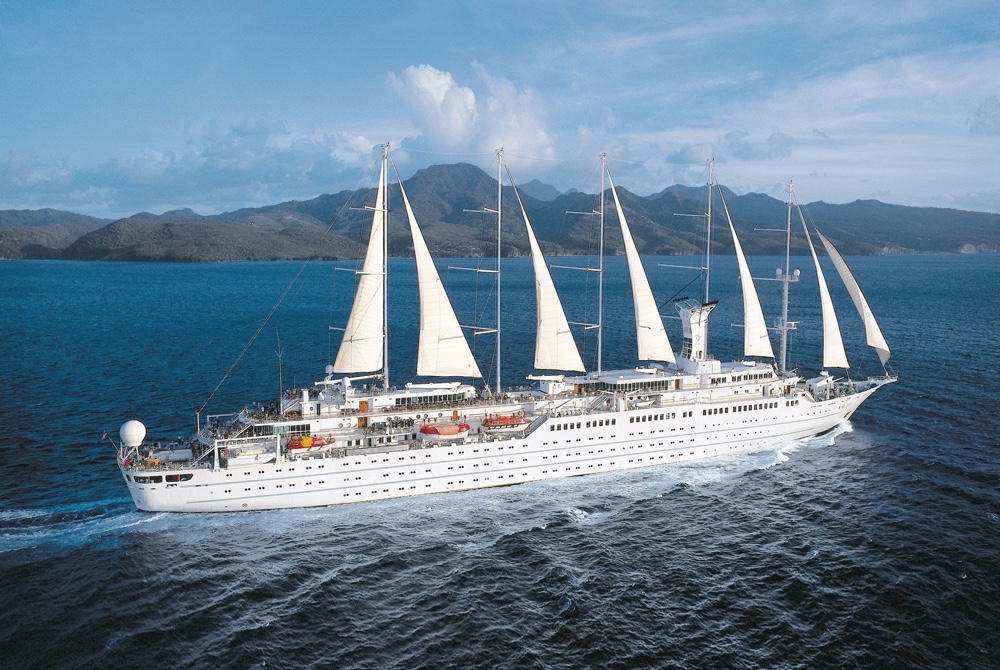 Windstar Cruises' Sail Cruise Ship