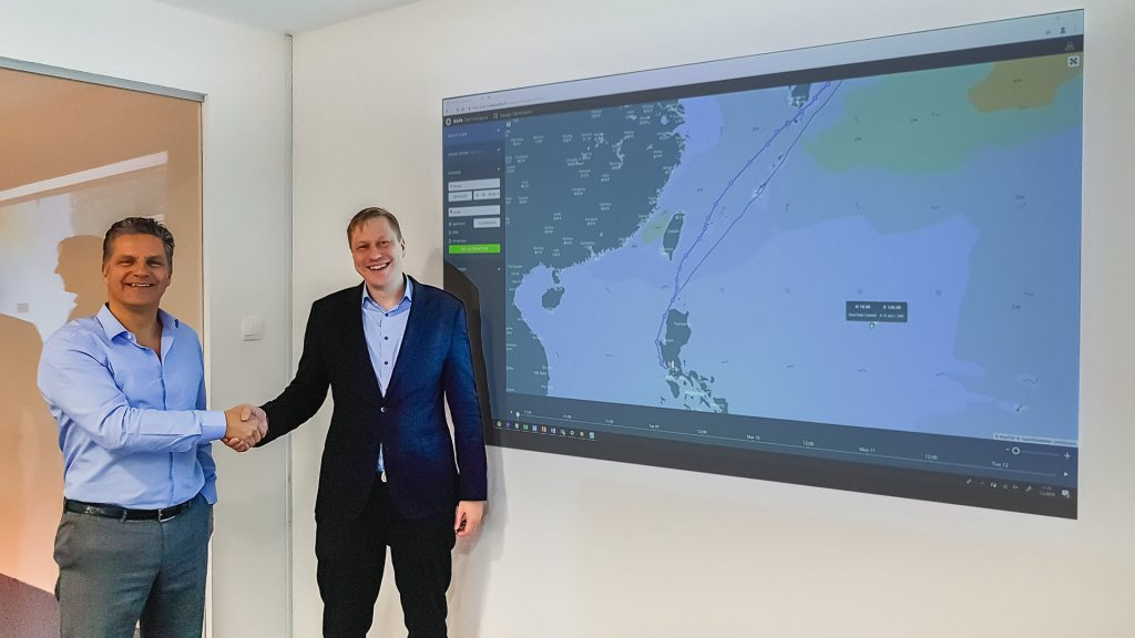 ChartWorld and NAPA become partners in voyage planning and optimization