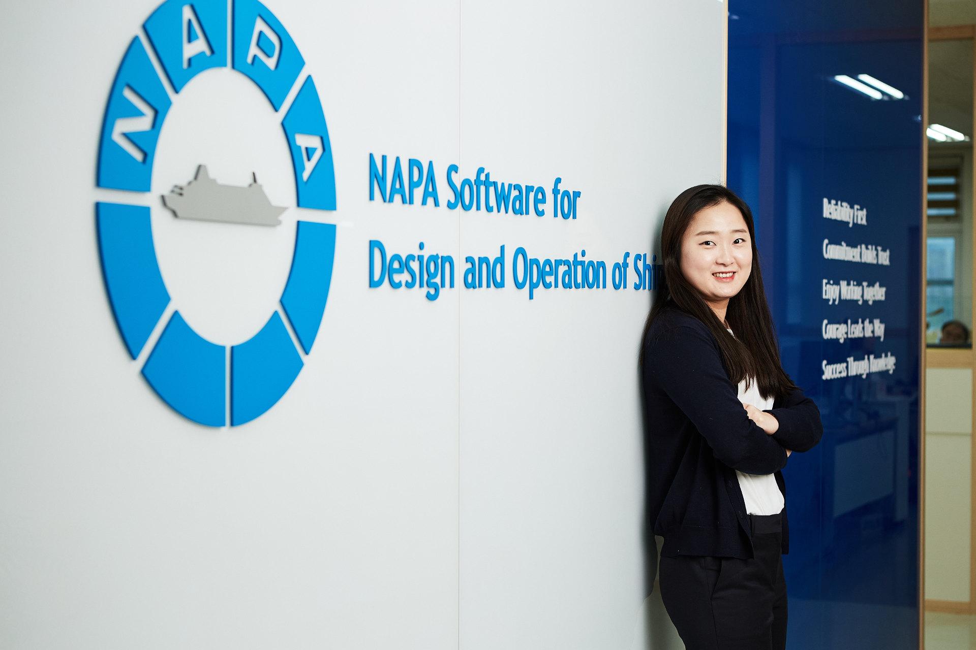 Technical Consultant Nuri On at NAPA Korea office