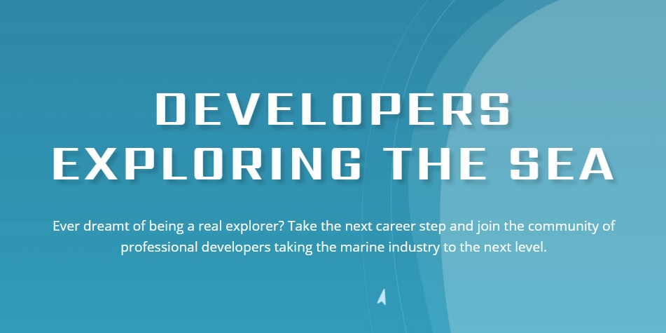Developers Exploring the Sea
