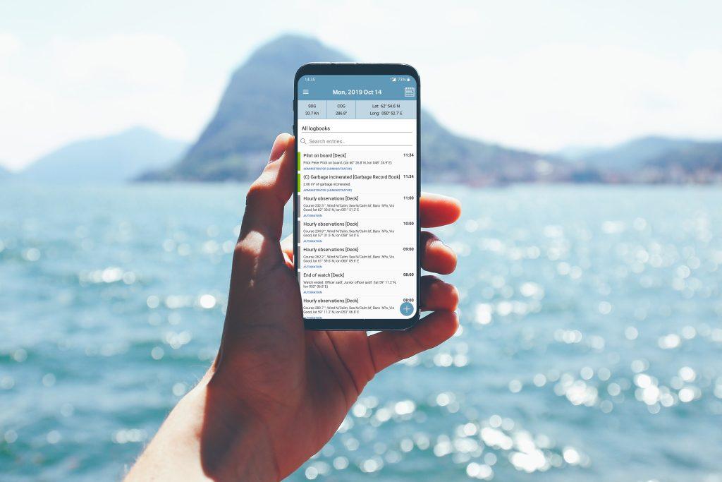 NAPA Logbook mobile app