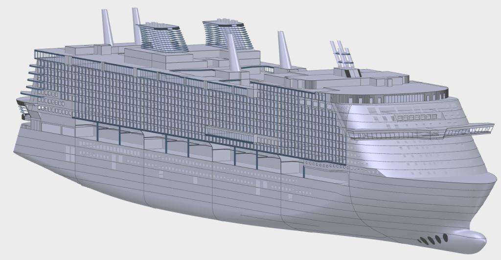 The Global class. Made by MV Werften.