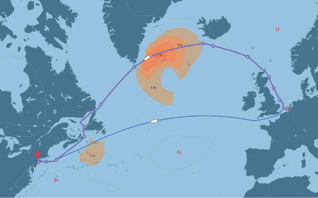 north sea vs english channel