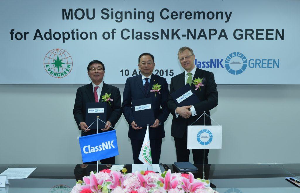 Evergreen chooses NAPA ship performance monitoring software