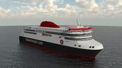 Steam Packet Manxman ferry